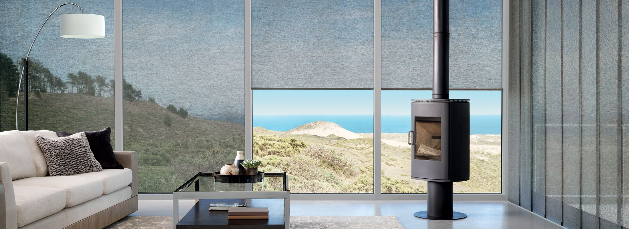 Light filtering fabrics in Zola Vayle - Alustra Woven Textures