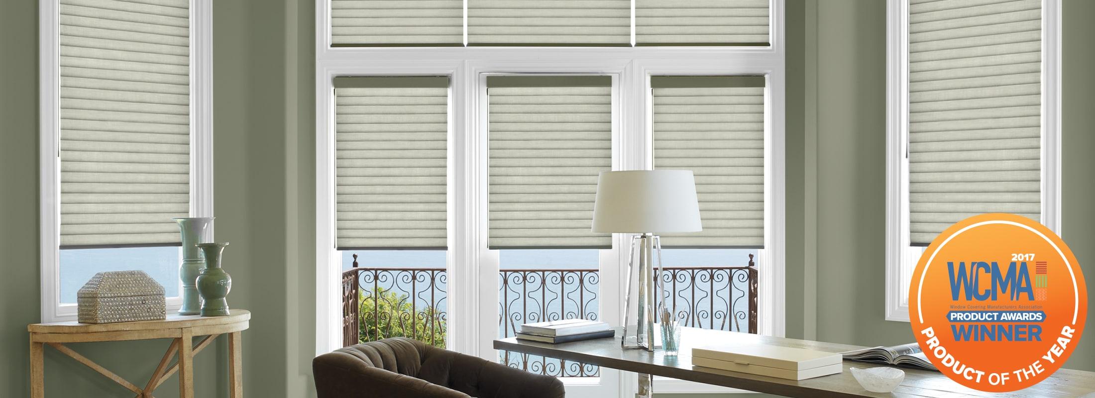 Light filtering in Elan® Pearl Gray - Sonnette